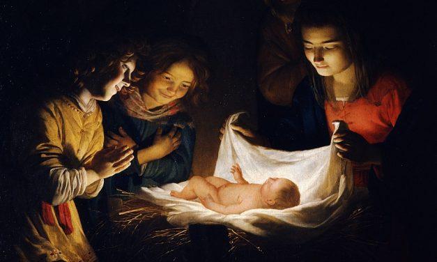 Weihnachten beginnt mit Christus