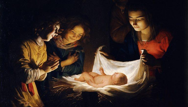 Jesus Krippe Weihnachten