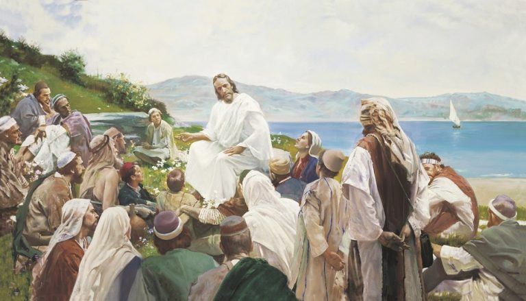 Jesus Christus Bergpredigt