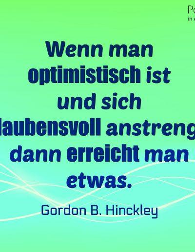 Hinckley Optimistisch