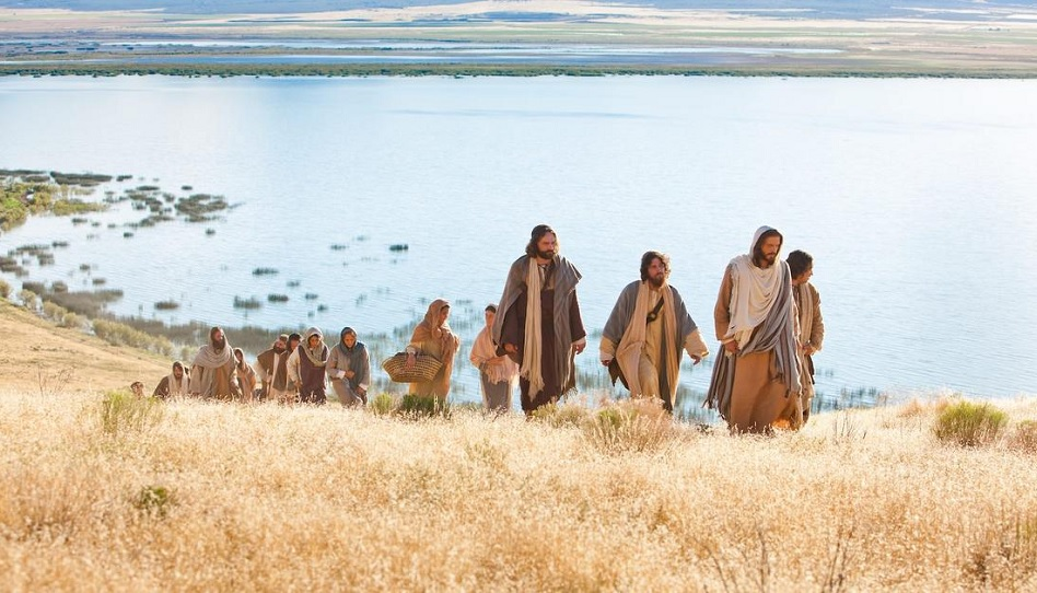 Folge dem Beispiel Jesu Christi.