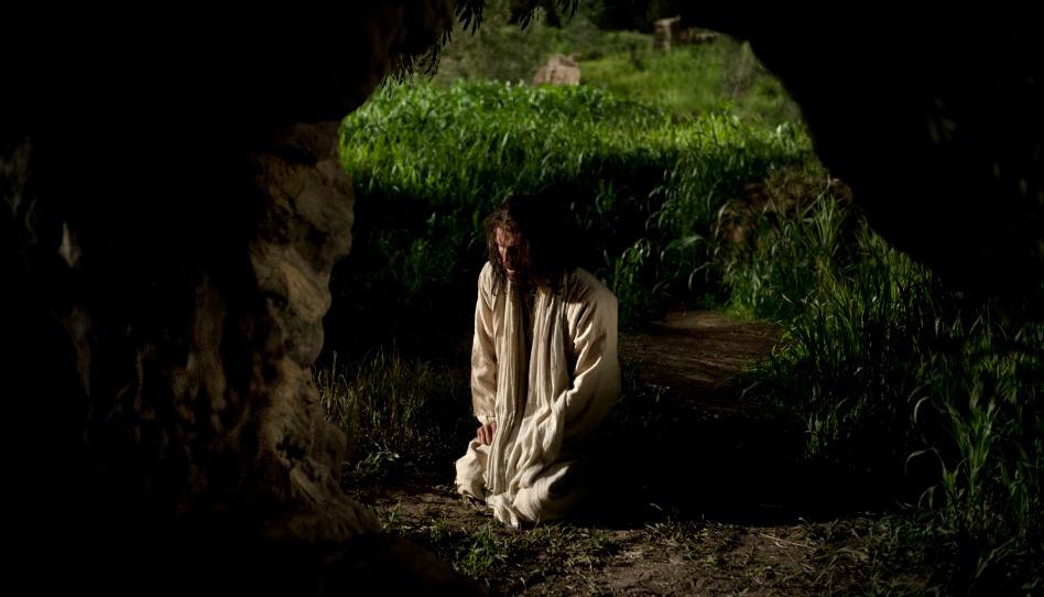 Ereignis aus dem Leben Jesu - Jesus betet in Getsemani