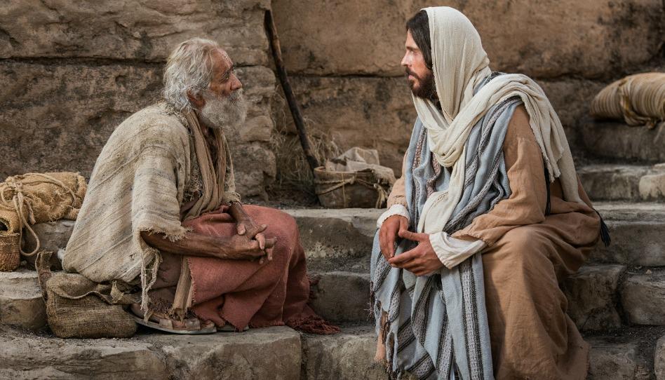Ereignis aus dem Leben Jesu - Jesus heilt einen Lahmen