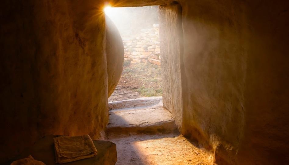 Das leere Grab Christi