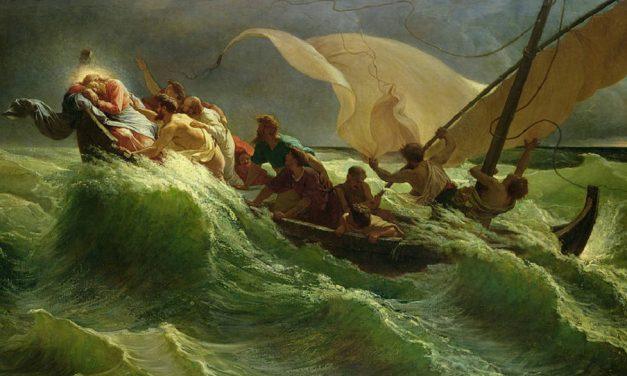 Schläft Jesus durch deinen Sturm?