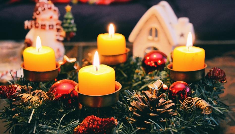 Adventskranz Weihnachtsstress