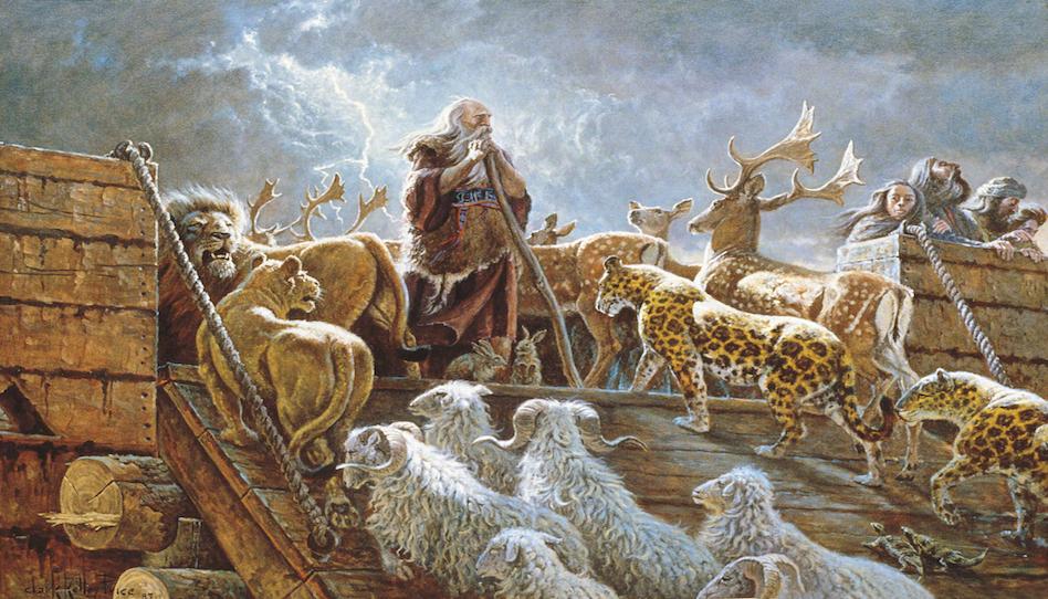 Noah und die Tiere