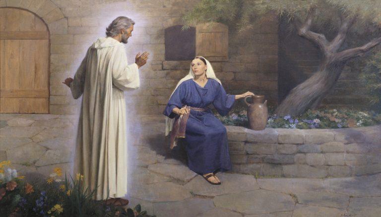 Der Engel Gabriel und Maria